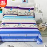 床上用品三件套四件套【床单+枕套】床单三件套斜纹磨毛多规格.