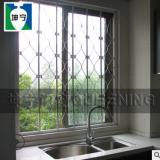 坤宁牌室内安装活动折叠锰钢厨房防盗窗防护窗防盗网旧城改造选用