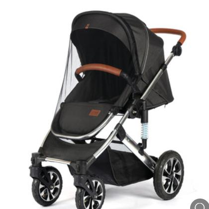 婴儿推车婴儿车蚊帐宝宝推车加密蚊帐加大通用防尘防蚊