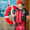 厂家批发 水趣PVC泡棉救生圈免充气船用抗洪防汛专业成人CCS认证