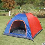 2019新款单层门全自动帐篷 情侣户外旅行野营便携防雨帐篷批发