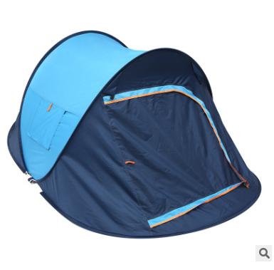 厂家批发户外运动2-4人全自动野营帐篷双人露营船帐 可定制批发