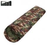 2400克 加厚 保暖户外野营露营迷彩睡袋 成人信封带帽 睡袋户外