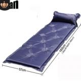 厂家直销 户外野营可互拼自动充气垫防潮垫 野营帐篷九点充气垫