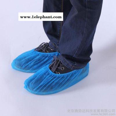 无纺布均码蓝色 一次性鞋套非鞋套机专用成本价清仓 50双/包