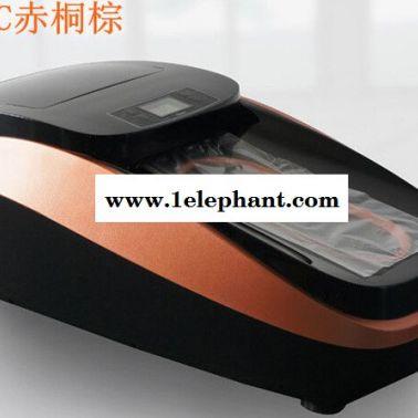 上海坤昱QUEN智能鞋覆膜机  家用 全自动创意鞋套机 xt-46c