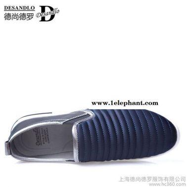 春季韩版厚底耐磨男鞋套脚运动休闲鞋驾车鞋帆布鞋青年日常潮鞋子