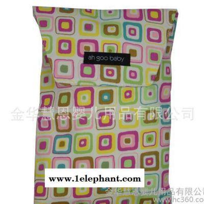 婴儿床挂袋 床头挂袋 婴儿收纳袋 尿布袋  宝宝储物袋 多色可选