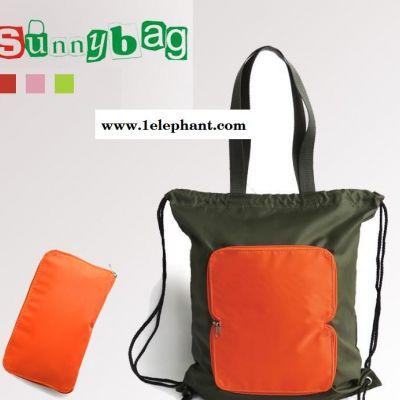 Sunnybag品牌工厂订做爆款防水旅行便携折叠休闲包束口收纳袋