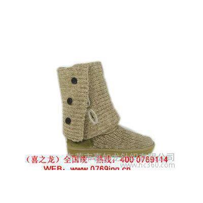 针织毛线鞋套 提花毛线鞋 室内地板毛线拖鞋毛织鞋口毛线鞋面