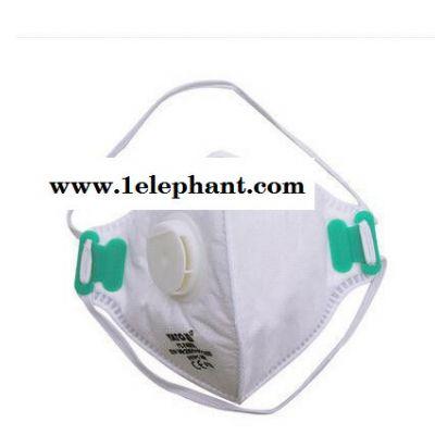 易尔拓防工业粉尘面罩PM2.5防雾霾防过敏抗菌无纺布口罩YT