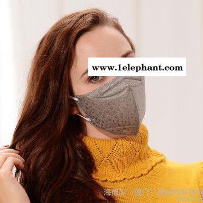 纳福V99纳米纤维活性炭碟形口罩防雾霾PM2.5细菌病毒过敏