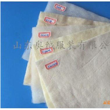 供应奥绒定制口罩棉大化棉涤纶表面毡定型棉压缩