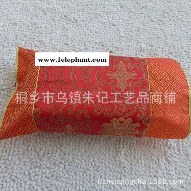 中国特色民族风丝绸织锦缎纸巾套 汽车中式复古纸巾盒收纳盒