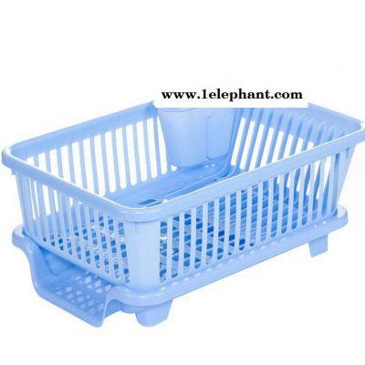 碗架 塑料厨房沥水碗架碗筷餐具收纳盒放碗碟架滴水碗盘置物架