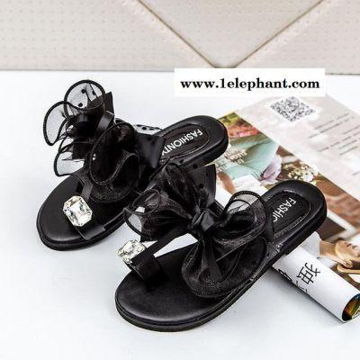2015夏季新款 哈莉童鞋 韩版夹趾儿童拖鞋公主鞋女童拖鞋A