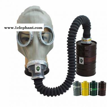 耐尔普斯 防毒面具供应 火灾防烟煤灰面罩带滤罐批发价格 **