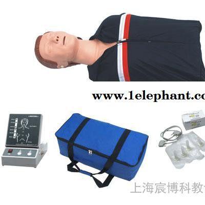 半身心肺复苏模拟人,急救训练人体模型