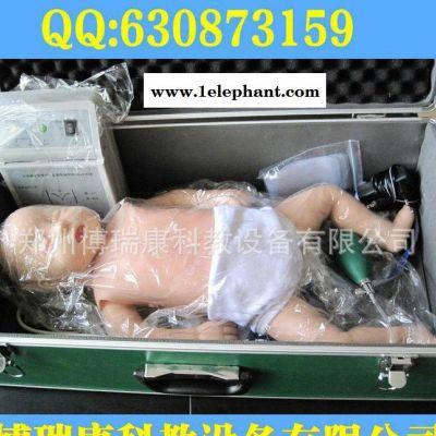 婴儿心肺复苏模拟人 婴儿急救教学模型 医学 模型