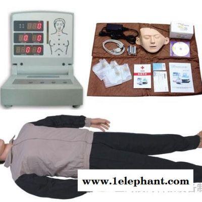 电脑心肺复苏模拟人,急救训练人体模型,人工呼吸假人