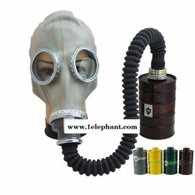 耐尔普斯防毒面具供应 火灾防烟煤灰面罩带滤罐批发价格 专业生产**