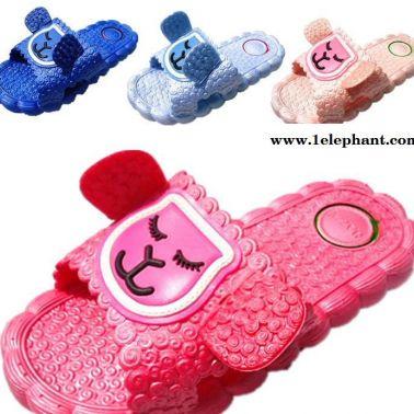 夏季新款卡通儿童凉拖鞋透气防滑耐磨儿童拖鞋中小童