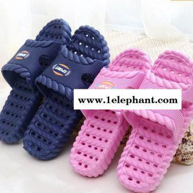 浴室拖鞋洗澡漏水防滑室内家居夏季男女情侣塑料木地板夏天凉拖鞋