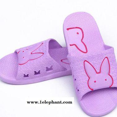 拖鞋女夏季防滑浴室洗澡平跟橡胶家居室内软底情侣冲凉凉拖鞋