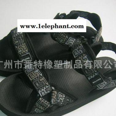 加工订做男士户外耐磨舒适罗马凉拖鞋