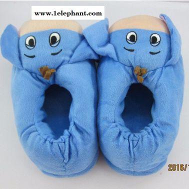 东恒达 月子后根棉拖鞋保暖 冬款  全包后根卡通棉拖鞋  毛拖鞋定制打样