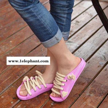 【2014春夏新款】潮人必备韩版情侣拖鞋 男女款凉鞋 爆款推