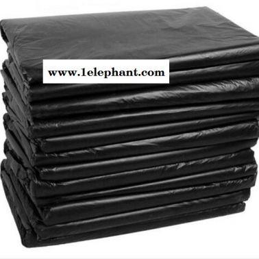 【精淘塑料】宾馆酒店塑料加大加厚平口式黑色垃圾袋 家用家居大垃圾袋