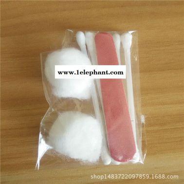 直销酒店一次性护理包客房洗漱用品棉签棉片指甲锉护理套装