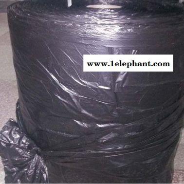 【精淘塑料】90x110cm黑色大垃圾袋 平口加厚批发物业酒店专用黑色大垃圾袋