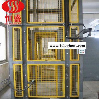 恒盛  货梯升降机 固定式升降机 厂房货梯 导轨式升降机 液压货梯价格