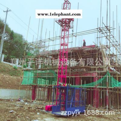 施工升降机 自升式门架升降机 建筑工地上料提升机 单柱单笼上料机