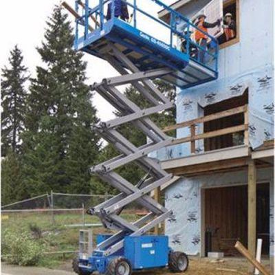 9米吉尼GS-2669DC剪叉式高空作业平台  高空登高车  高空车  升降平台 升降机