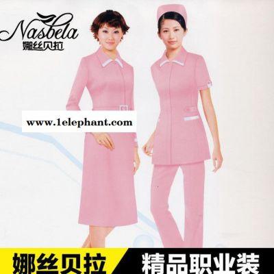 加工厂来图来样设计定做医护服装 白大褂 护士服 护工服定做