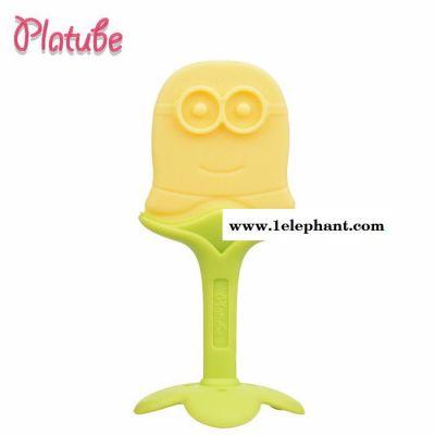 厂家现货批发 婴儿牙胶宝宝磨牙棒水果硅胶咬胶咬乐玩具 母婴用品