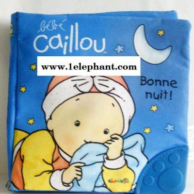 【卡由响纸牙胶布书】 外贸批发 0-1岁多功能早教 婴幼儿玩具