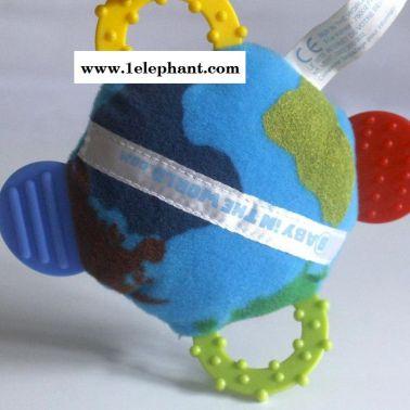 【牙胶手摇铃】 厂家实体 外贸批发 0-1岁 多功能早教婴幼儿玩具
