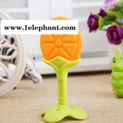 立体水果型全硅胶婴儿牙胶 安全无毒咬牙器 磨牙器 婴儿用品