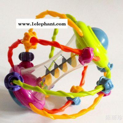 玩具厂家  外贸多功能益智绕珠 0-1岁 牙胶 婴幼儿玩具