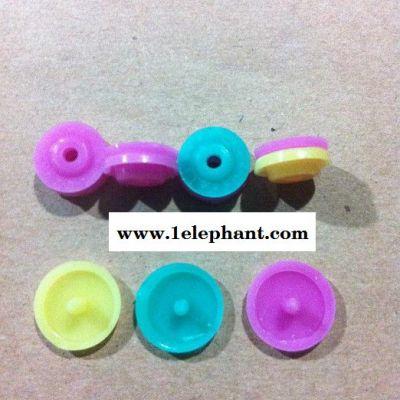 供应坚合T5塑料 四合扣一次性雨衣扣/树脂纽