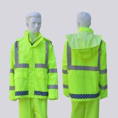 厂家直供江西户外骑行反光雨衣 骑行反光雨衣价格