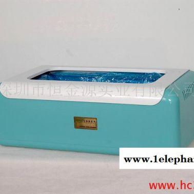 供应雅洁宝时尚型鞋套机 YJB-002(浅蓝色)钢制机芯自动鞋套机 出套率**鞋套机