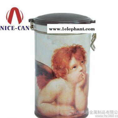 马口铁化妆品盒 婴儿爽身粉铁盒 护肤品密封罐 NC2328