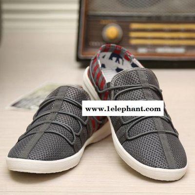 夏季爆款男鞋透气网鞋潮男个性网面运动休闲鞋套脚沙滩鞋懒人鞋