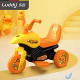 乐的 B.duck小黄鸭2-6岁儿童电动三轮摩托车婴儿玩具可坐人电瓶车