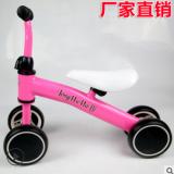 厂家货源儿童平衡车无脚踏滑步车四轮滑行车平衡自行车学步车批发